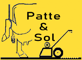 patte & sol - logo - contact